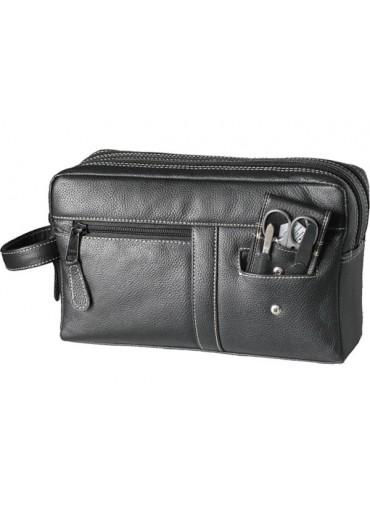 Sonnenschein Bavaria Leather Toiletry Bag With Nail Set