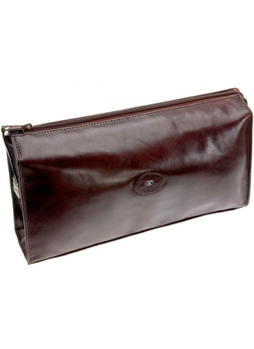 Hans Kniebes Berlin Leather Toiletry Bag