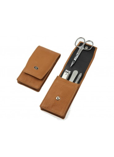 Hans Kniebes Classic Leather Manicure Set