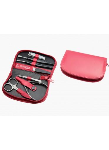 Sonnenschein HK Pro Leather Manicure Set 7 Pcs