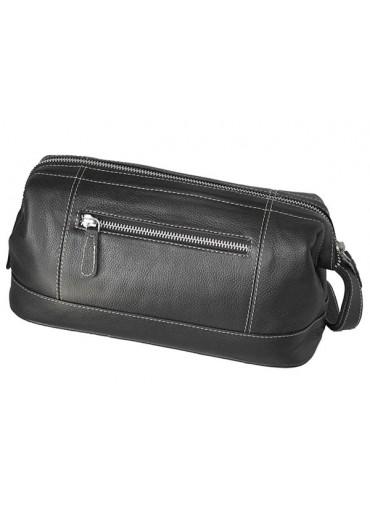 Sonnenschein Leipzig Leather Toiletry Bag