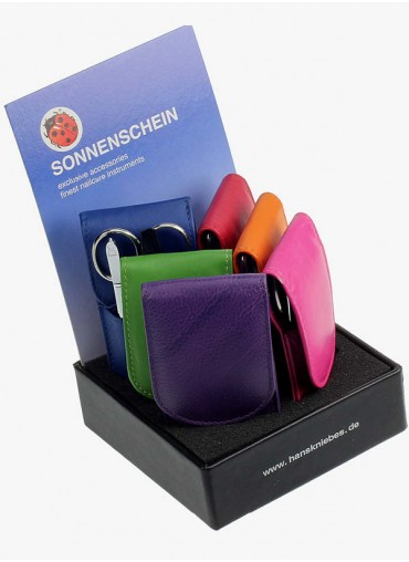 Sonnenschein Leather Manicure Sets – Display of 6