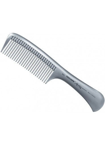 Triumph Master Handle Styling Comb Silver 8.5""