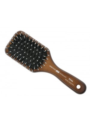 Hercules Sagemann Boar Bristle Wood Brush Mini Paddle