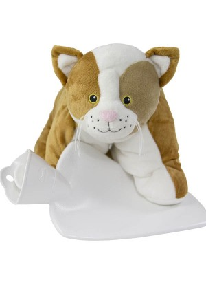 Hugo Frosch Hot Water Bottle Junior Comfort Cuddly Cat 1.8 L