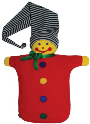 Hugo Frosch Hot Water Bottle Eco Junior Comfort Puppet 0.8 L