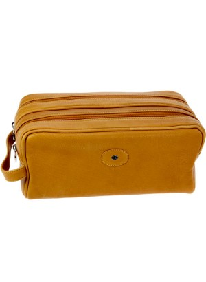 Hans Kniebes Munich Leather Toiletry Bag