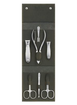 Niegeloh Havanna XL Leather  Manicure Pedicure Set