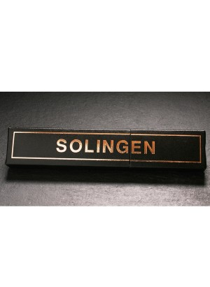 "Niegeloh Solingen Straight Razor 5/8"" For Traditional Shavers Gift Box"