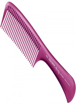 Triumph Master Handle Styling Comb Lilac 8.5""