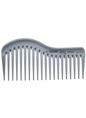 Triumph Master Styling Comb Silver 7""